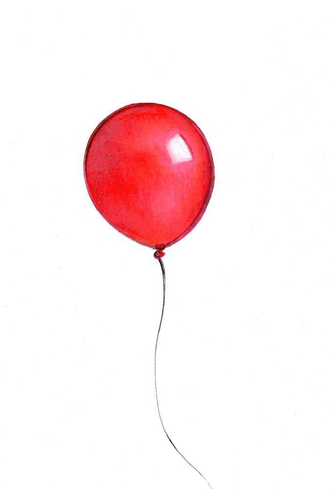 Red Balloon Pondering Poet Pilot